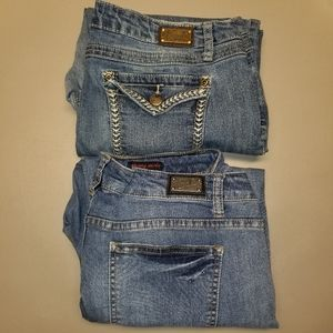 Bundle (2) Earl Women's Jean's Sz 1